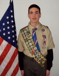Matthew P - Eagle Scout