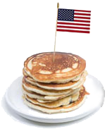 Pancake Breakfast, July 4, 2014